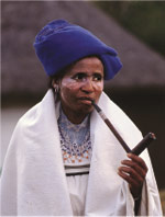 Traditional rural Xhosa woman